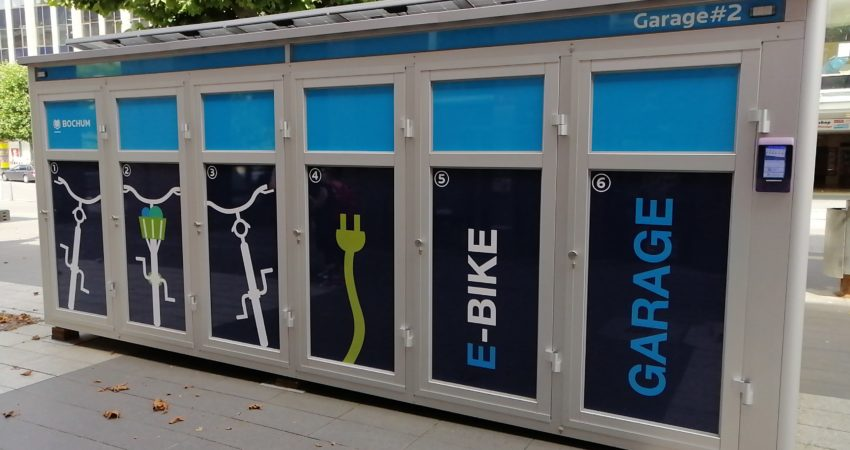 Beispiel Bike and Ride Box