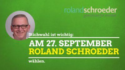 Roland Schroeder wählen